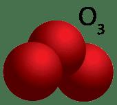 Desodorizacion con ozono - Molecula O3