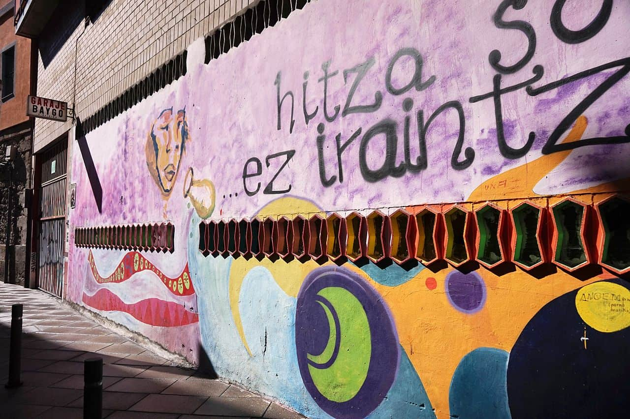 Empresa de limpieza de graffitis-bilbao