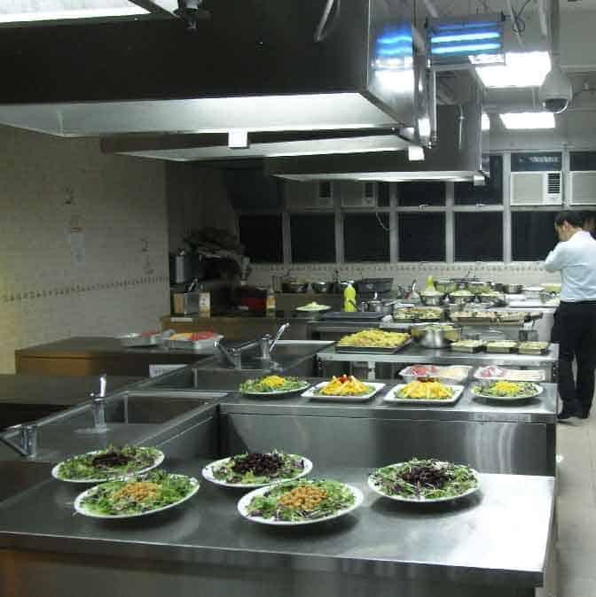 Limpieza de campanas de extraccion en cocinas colectivas