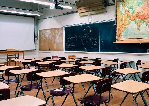 Limpieza en centros escolares, guarderías, etc.
