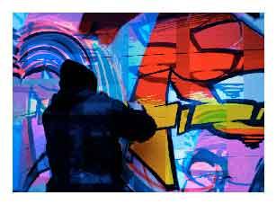 Limpieza de graffitis en Bilbao