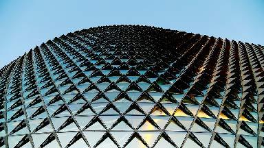 Limpieza de cristales en altura