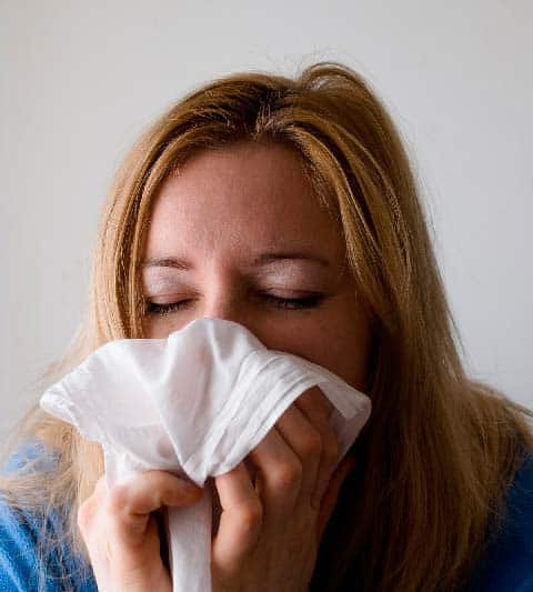 Limpieza en oficinas - Gripe