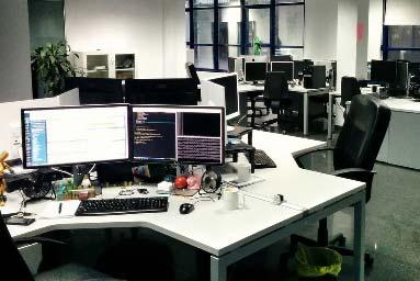 Limpieza en oficinas