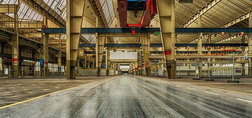 Limpieza de naves industriales