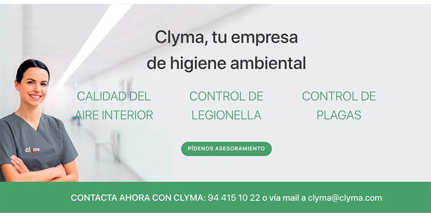 Nueva web higiene ambiental Clyma