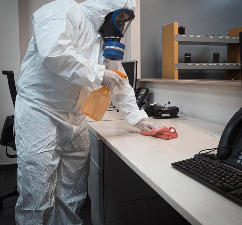 Empresas desinfección oficinas coronavirus