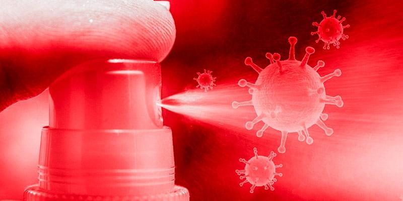 Cómo desinfectar la casa de coronavirus