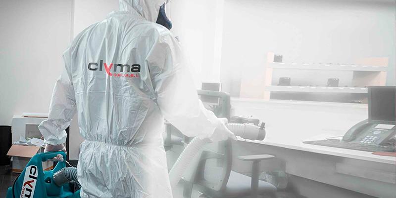 Desinfección de COVID-19 Clyma